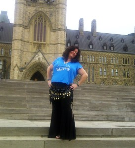 Siddiqah at Parliament Hill