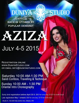 Aziza Workshop!