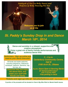 Sunday Drop In And Dance Poster (1)