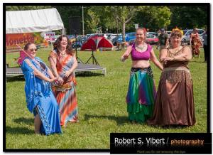 Photo by RSVPhotography - Belly Dancing For Fun troupe Stick dance at Kites For Cancer event
